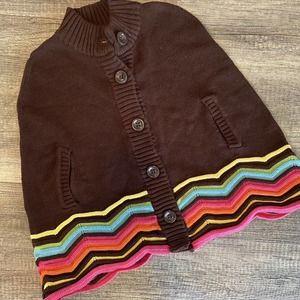 Gymboree 5/6 Sweater Poncho